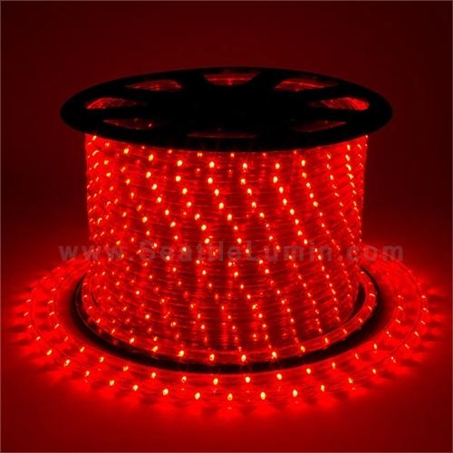 110 Volt Ac Led Rope Light Red Yellow 1 Meter Segment