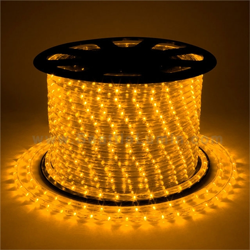 12 Volt Dc Led Rope Light Red Yellow 100 Meter 328 Foot Spool